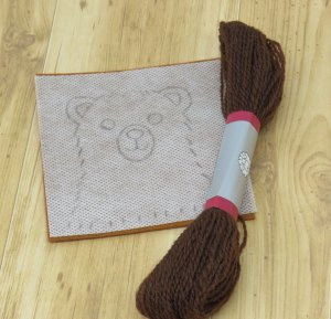 Bear hand embroidery pattern by stitchdoodles
