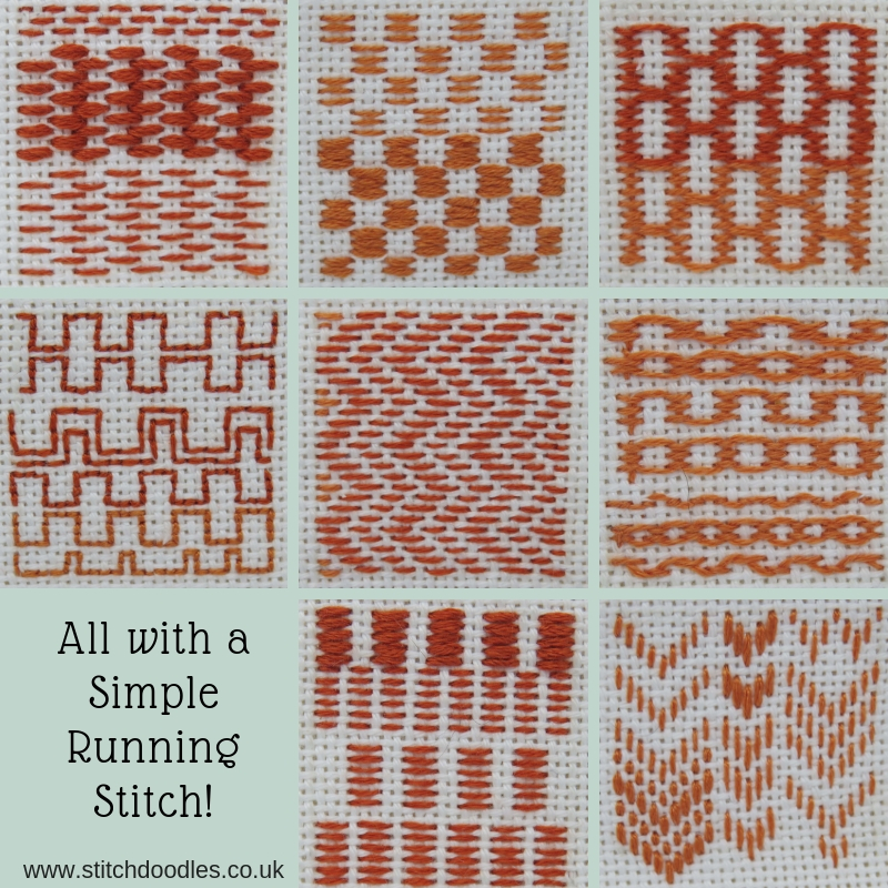 All with a SimpleRunning Stitch!