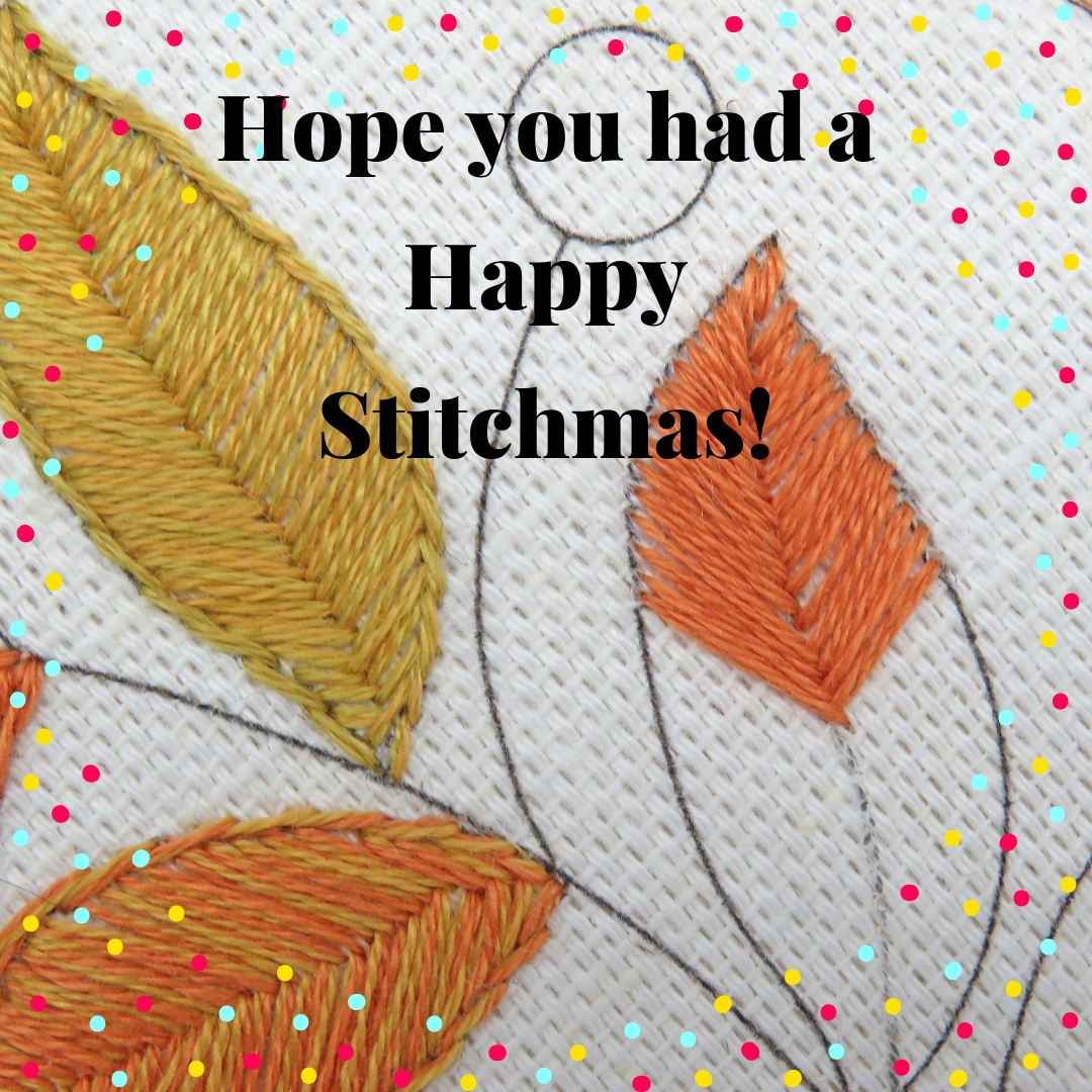 Happy Stitchmas 2018 from Stitchdoodles
