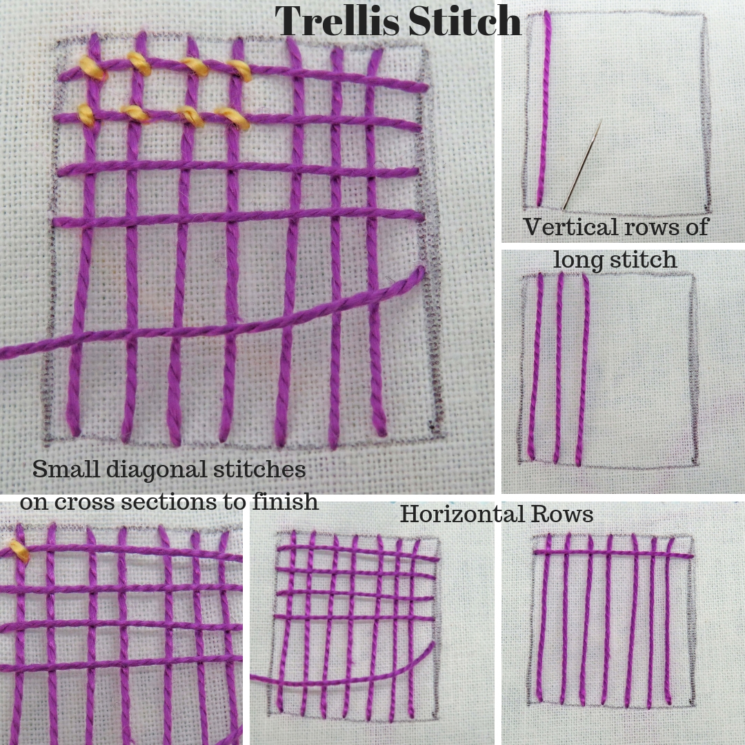 trellis collage